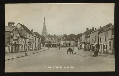 Essex THAXTED Town St early RP PPC