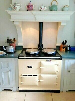 2 Oven Fully Reconditioned Gas Fired Aga Cooker.