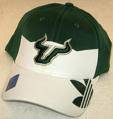 696ce90180f South Florida Bulls Multi-Color Structured Flex Fitted Hat By adidas