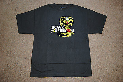 The Karate Kid Sensei Snake Bow To Your T Shirt New Official Movie Film 1984