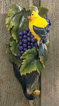 Wall Hook / Hang Up ~ Goldfinch