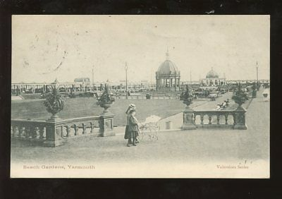 Norfolk GREAT YARMOUTH  Beach Gardens PPC 1903