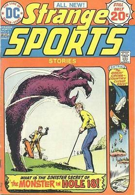 STRANGE SPORTS STORIES #6 Fine, DC Comics 1974