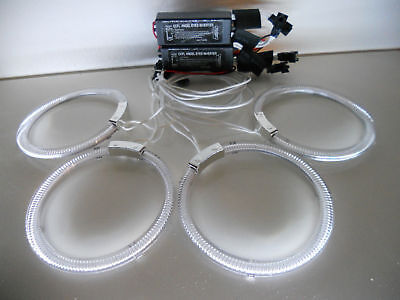 KIT ANGEL EYES BMW E46 SPORTIVO CON DUE PORTE  BIANCO