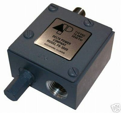 "Delta Power Hydraulic Pressure Switch PS1500 1/4"" NPT Adjustable 150-1500psi NEW"