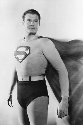 """GEORGE REEVES IN /""""ADVENTURES OF SUPERMAN/"""" DA-445 8X10 PUBLICITY PHOTO"""