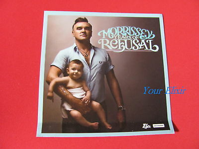 MORRISSEY Years of Refusal Tours Baby Board Sticker