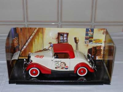Pepsi Cola: Ford Roadster 1934 - No Coca Cola