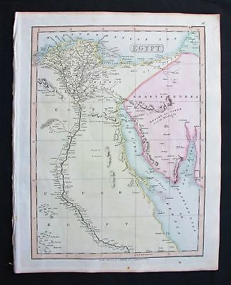 1820 SMITH Folio Atlas Major: Egypt, Lybia, Africa Suez