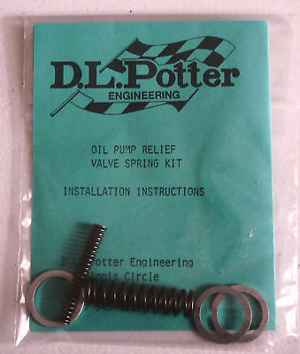 Oil Pump Relief Valve Spring Kit- all L-Series Datsun