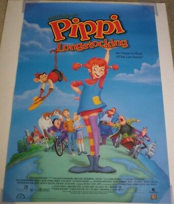 PIPPI LONGSTOCKING MOVIE POSTER 1 Sided ORIGINAL 27x40