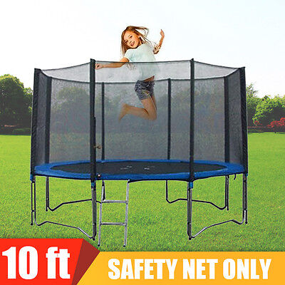 10FT 10 FOOT 305cm REPLACEMENT TRAMPOLINE SAFETY NET SURROUND enclosure
