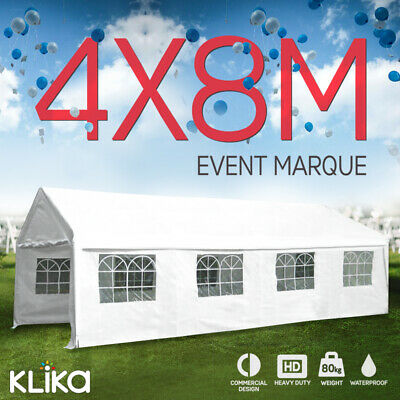 NEW White 4x8 GAZEBO PARTY WEDDING TENT EVENT SHADE MARQUEE OUTDOOR CANOPY