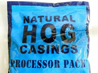 LARGE PACK Butcher Packer Hog Casings Sausage Links From N America for 100+ lbs