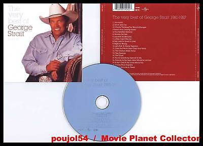 """GEORGE STRAIT """"The Very Best Of"""" (CD) 1998"""