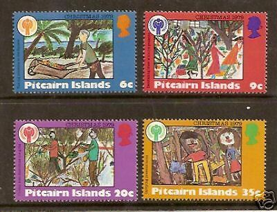 PITCAIRN IS 1979 CHRISTMAS YEAR OF THE CHILD 4v MNH