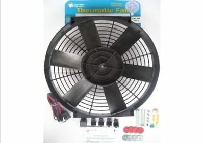 """Davies Craig 16"""" Thermo Fan Kit 12V With Wiring Dc0066"""