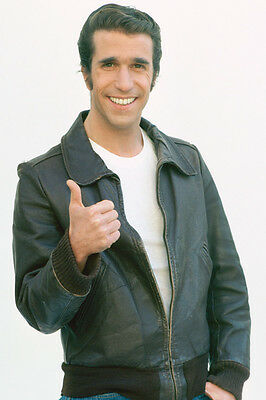 Henry Winkler Happy Days Thumbs Up Fonzie 36X24 Poster