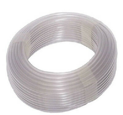 10m x 6mm SILICONE AIRLINE AIR TUBE AQUARIUM FISH TANK POND AIRSTONE LINE