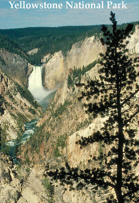 YELLOWSTONE NATIONAL PARK GLOSSY POSTER PICTURE PHOTO BANNER PRINT wyoming 6399