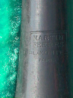 Martin Freres LaMonte Paris Grenadilla Wood Clarinet #2 in the Blue velvet case