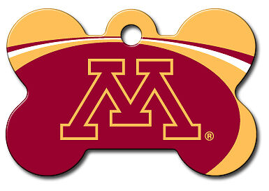 Licensed NCAA Minnesota Golden Gophers Pet Tag