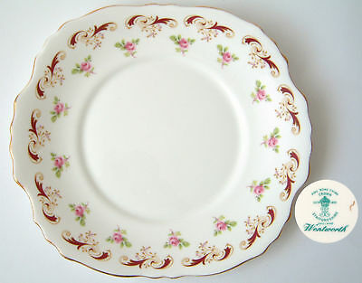 """Crown Staffordshire """"Wentworth"""" Cake Plate"""