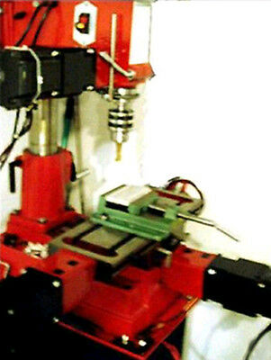 CNC Mill Retrofit Plans Step-by-Step Conversion Controller 3 Axis CDROM Video