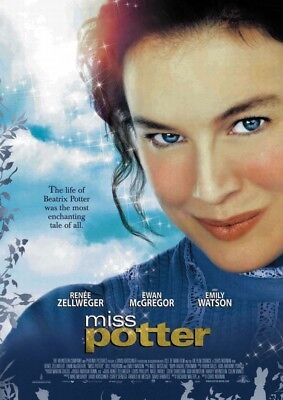 MISS POTTER MOVIE POSTER 2 Sided ORIGINAL ROLLED 27x40