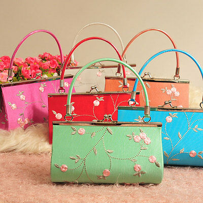 Wholesale10pcs Chinese Hnadmade Vintage Silk Embroidered Purses&Handbags Clutch