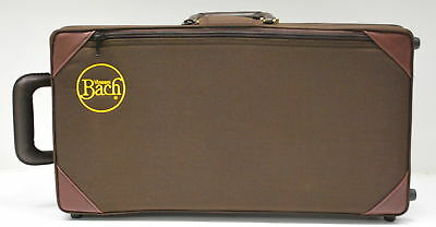 NEW BACH STRADIVARIUS 1843STD TRUMPET CASE, Bb AND C