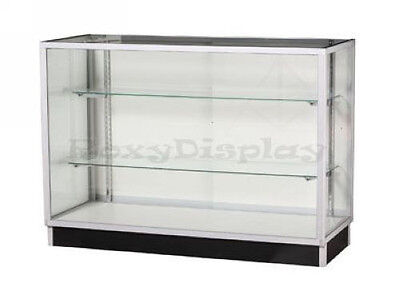 Aluminum Extra Vision Showcase Display Store Fixture Knocked Down Case #SC-KD5G