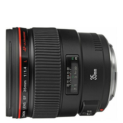 NEW Canon EF 35mm f/1.4L USM Lens For EOS 1 Year WTY