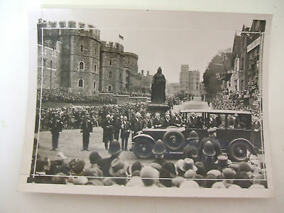 king returns home after convalescing 1929 press photo