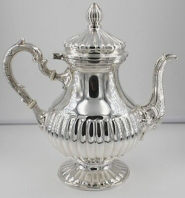 Camusso Sterling Silver Coffee Tea Pot 8-1/4 inches