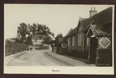Leicestershire TWYFORD 1927 RP PPC