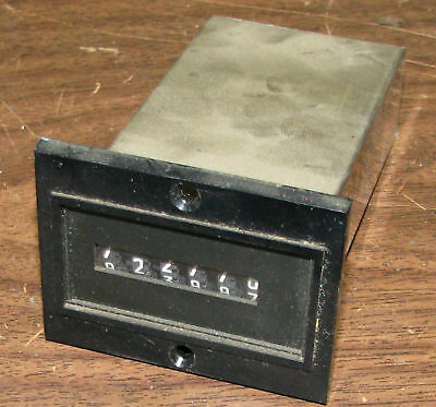 Veeder-Root 6-Digit Mechanical Counter 744096-221