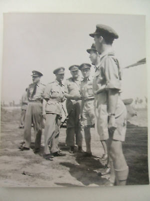 king & general sir h maitland wilson 1944 italy photograph