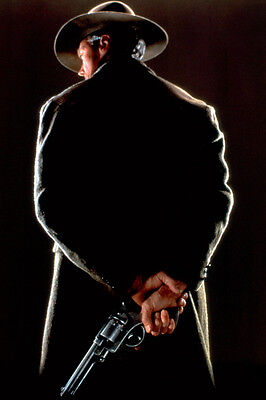 Clint Eastwood Unforgiven 24X36 Poster Back Turned Gun
