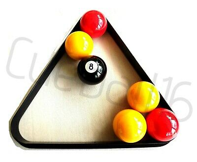 """TRIANGLE TO FIT 15 x STANDARD 2"""" (50.8mm) POOL TABLE BALLS"""