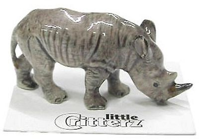 little Critterz Miniature- White Rhino - LC430  (Buy 5 get 6th free!)