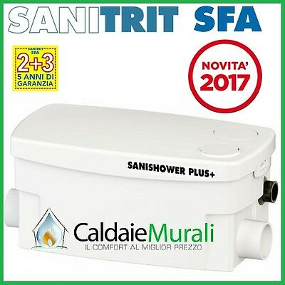 Pompa Per Acque Chiare Sfa Sanitrit Modello: Sanishower Plus+ - New