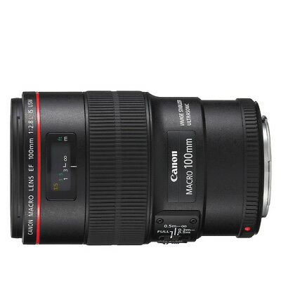 NEW Canon EF 100mm f/2.8L Macro USM Lens For EOS +WTY