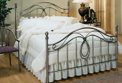 Milano Classic Antique Pewter Headboard, King Size