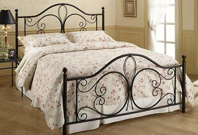 Milwaukee Antique Brown Headboard and Footboard, Queen