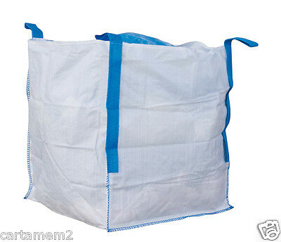 SACO BIG BAG 90×90 cm de base x 100 cm -IDEAL PARA ALMACENAMIENTO Y TRANSPORTE