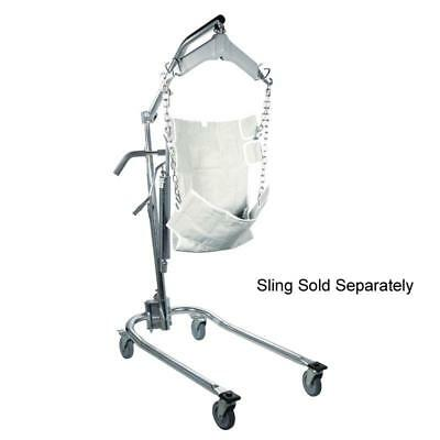 450lb Capacity Hydraulic Patient Lift, Six Point Cradle