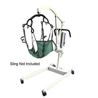 600lb Capacity Battery Powered Patient Lift with Cradle
