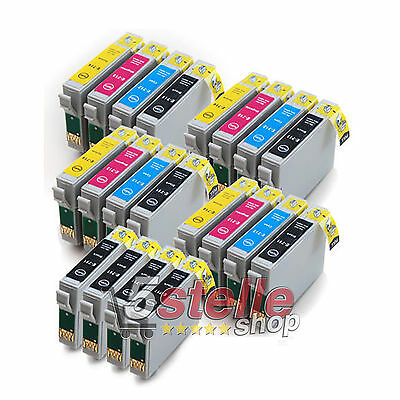 Kit 20 Cartucce Per Epson T0711 T0712 T0713 T0714 Nuove