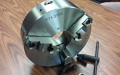 "12"" 3-Jaw Self-Centering Lathe Chucks  #1203F0- New"